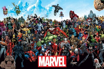 Marvel Characters 61x91,5cm Poster
